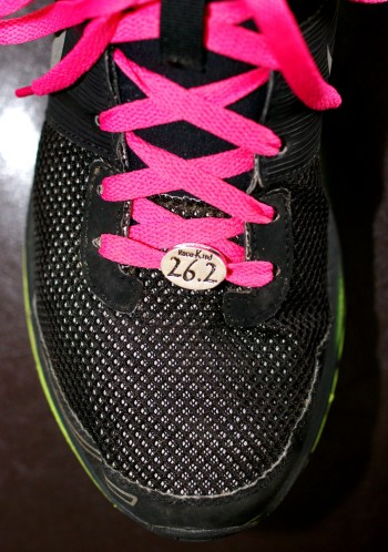 26.2 on my shoe